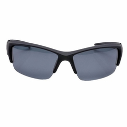 Cycling Black Frame Gray Lens Sunglasses Outdoor Activity SunProtection Eyewear