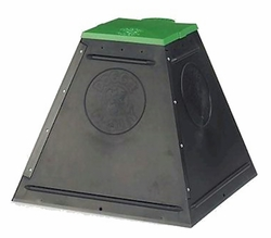 Doggie Dooley 3500 Pyramid-Shaped Pet Dog Waste Disposal Systems