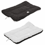 Eco-Paw Reversible Eco-Friendly Pet Bed- Black And White - Medium