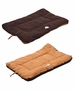 Eco-Paw Reversible Eco-Friendly Pet Bed- Brown And Cocoa - Medium