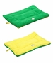 Eco-Paw Reversible Eco-Friendly Pet Bed- Green And Yellow - Large
