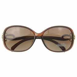 Fashion Bows Sun Protection Sunglasses Outdoor Activities-use Brown Eyewear