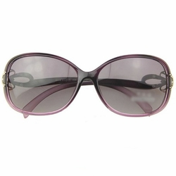 Fashion Bows Sun Protection Sunglasses Outdoor Activities-use Purple Eyewear