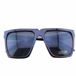 Fashion Brown Frame Daily Square Frame Sunglasses Eyewear Sun Protection