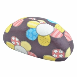 Fashion Hard Clamshell Sunglasses Eye Glasses Case/Storage Box Sunflower Brown