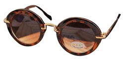 Fashion Lovely Child Sunglasses Round Frame Cool Sunglasses Leopard