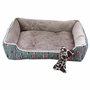 Fashion Pet Bed Pet House for Small Cat Dog Rectangle doghouse Kennel No.01
