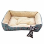 Fashion Pet Bed Pet House Rectangle Doghouse Kennel for Small Cat Dog No.02