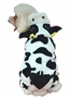 Fashion Pet Dog Warmth Clothes Clothes Winter Dress Cow