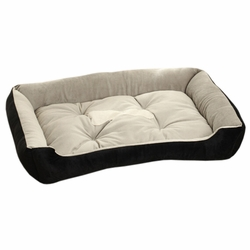Fashion Pet Supplies Pet Bed for Small Cat Dog Rectangle Pet House Kennel Black