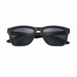 Fashion Retro Polarized Sunglasses (Matte Grey Film)