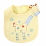 Giraffe Neat Solutions Waterproof Baby Infant Toddle Burp Cloths Bib Set of 3
