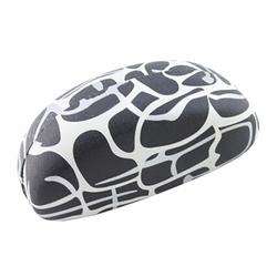Hard Clamshell Sunglasses Eye Glasses Case/Storage Box Dairy Cow Black/White
