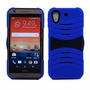 HTC Desire 626 / 626S Hybrid Silicone Case Cover Stand Blue