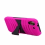 HTC Desire 626 / 626S Hybrid Silicone Case Cover Stand Pink