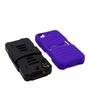 HTC Desire 626 / 626S Hybrid Silicone Case Cover Stand Purple