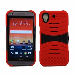 HTC Desire 626 / 626S Hybrid Silicone Case Cover Stand Red