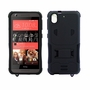 HTC Desire 626 / 626S Impact Silicone Case Dual Layer with Stand Black