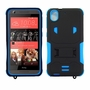 HTC Desire 626 / 626S Impact Silicone Case Dual Layer with Stand Blue