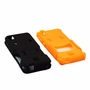 HTC Desire 626 / 626S Impact Silicone Case Dual Layer with Stand Orange