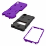 HTC Desire 626 / 626S Impact Silicone Case Dual Layer with Stand Purple Gray