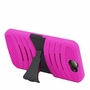 HTC One A9 Hybrid Silicone Case Cover Stand Pink