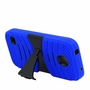 Huawei Union / Y538 Hybrid Silicone Case Cover Stand Blue