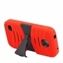Huawei Union / Y538 Hybrid Silicone Case Cover Stand Red