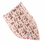 Infant Burp Cloths Toddle Baby Bibs Neat Solutions Double Layers LETTER Set of 5