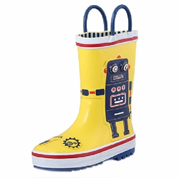Infant Rainy Day Wear Toddler Rain Shoes Baby Rain Boot Rubber Shoes Robert
