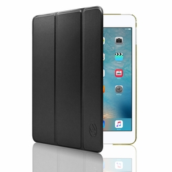 IPAD Mini 4 Luxury Slim Stand Polyurethane Cover Smart Case Black
