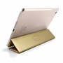 IPAD Mini 4 Luxury Slim Stand Polyurethane Cover Smart Case Gold