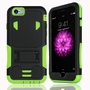 IPhone 6 / 6S Impact Silicone Case Dual Layer with Stand Green