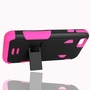IPhone 6 / 6S Impact Silicone Case Dual Layer with Stand Pink