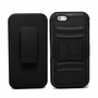 IPhone 6 / 6S Plus Armor Belt Clip Holster Case Cover Black