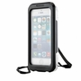 IPhone 6 / 6S Plus Full Body Sealed Waterproof Snowproof Shockproof Dirtproof Case Black