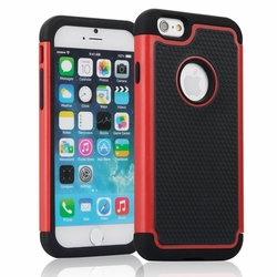 IPhone 6 / 6S Plus Shockproof Rugged Box Case Cover Matte Red