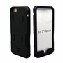 IPhone 6 / 6S Puls Impact Silicone Case Dual Layer with Stand Black