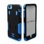 IPhone 6 / 6S Puls Impact Silicone Case Dual Layer with Stand Blue