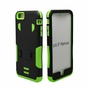 IPhone 6 / 6S Puls Impact Silicone Case Dual Layer with Stand Green