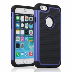 IPhone 6 / 6S Shockproof Rugged Box Case Cover Matte Blue