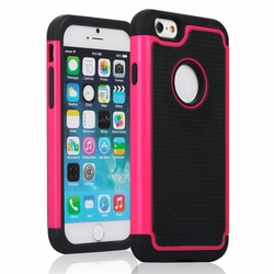 IPhone 6 / 6S Shockproof Rugged Box Case Cover Matte Pink