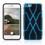 IPhone 6 / 6S Spider Max Dual Layers Hybrid Cover Case Blue