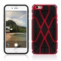 IPhone 6 / 6S Spider Max Dual Layers Hybrid Cover Case Red