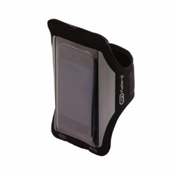iPhone Armband Case Cover Workout Cell Phone Holder Sports Running Gym - Black