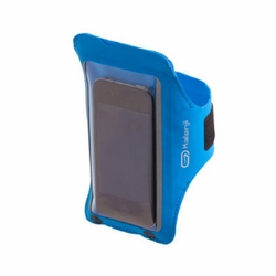 iPhone Armband Case Cover Workout Cell Phone Holder Sports Running Gym - Blue