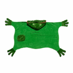 Kidorable Infant Baby Toddler Cotton Bathrobe Frog Towel Small