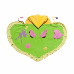 Kidorable Infant Baby Toddler Cotton Bathrobe Green Fairy Towel Small