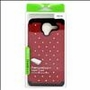 Kyocera Hydro View C6742 Diamond Hybrid Rugged Case Cover Red
