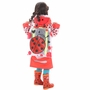 Ladybird Cute Baby Rain Jacket Infant Raincoat Toddler Rain Wear RED S